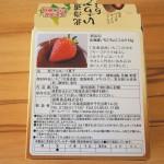 Hokkaido Strawberry Chocolate (back)